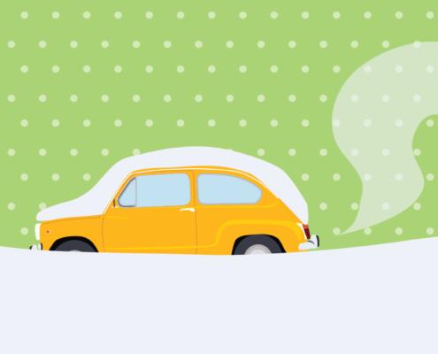Ogrevanje avta pred vožnjo ni smisleno / PorabimanjINFO