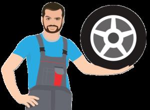 Skladiščenje pnevmatik - Poiščite ustrezen avtoservis ali vulkanizerja / PorabimanjINFO