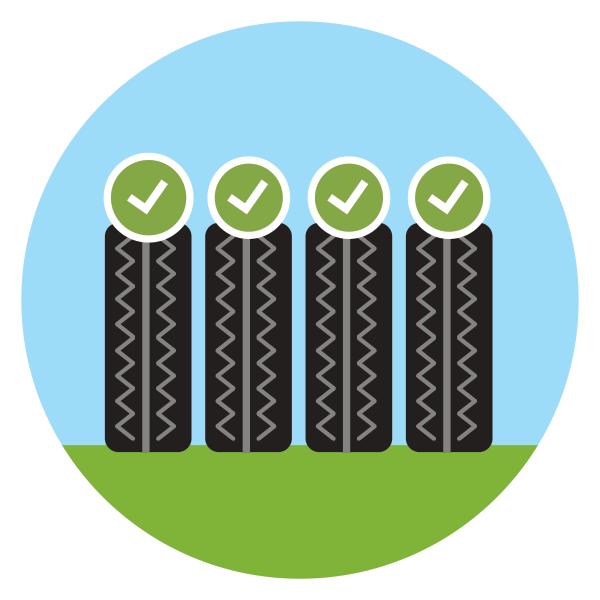 Varna vožnja je mogoča le, če so vse štiri pnevmatike enake kakovosti / PorabimanjINFO