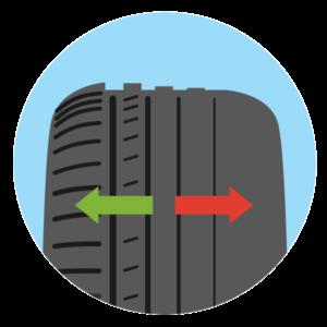 Menjava pnevmatik - Neenakomerna obraba / PorabimanjINFO
