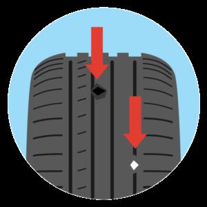 Menjava pnevmatik - Poškodbe + kamenčki / PorabimanjINFO