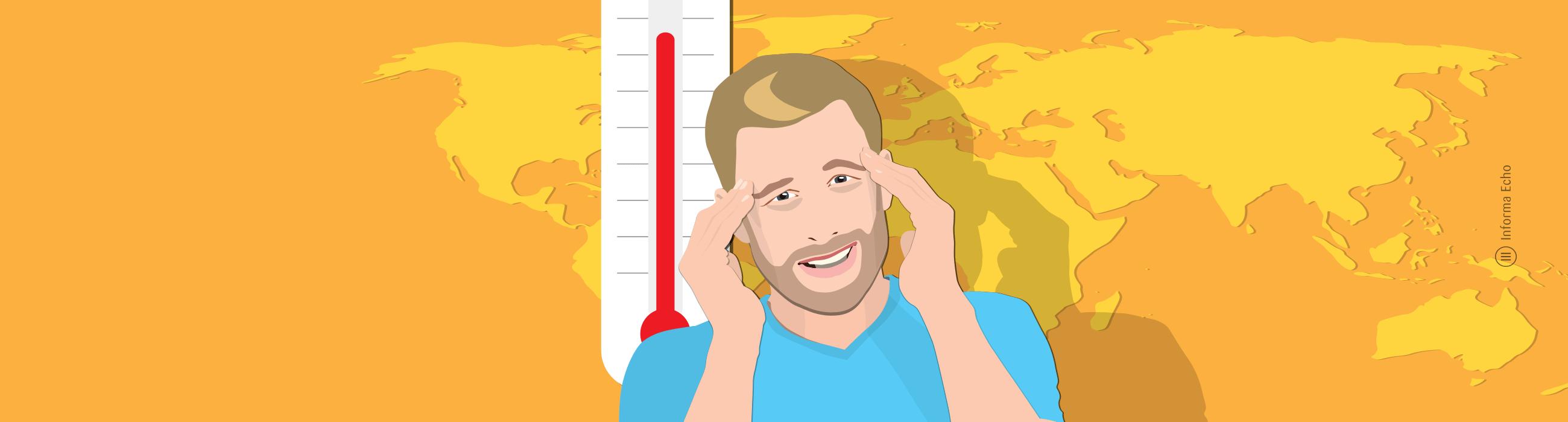 Vpliv klimatskih naprav na okolje / PorabimanjINFO / Ilustracija: Branko Baćović