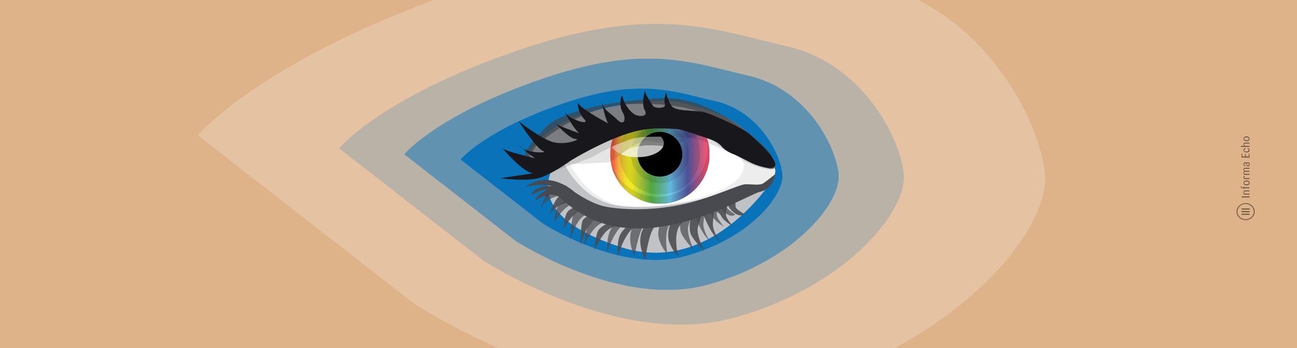 Kaj je svetloba - Vidni spektrum / PorabimanjINFO / Ilustracija: Branko Baćović