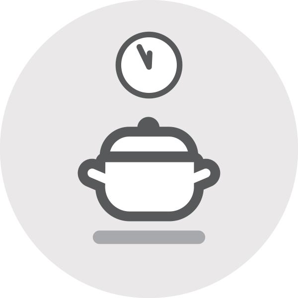 izklop štedilnika nekaj minut pred koncem kuhanja / PorabimanjINFO